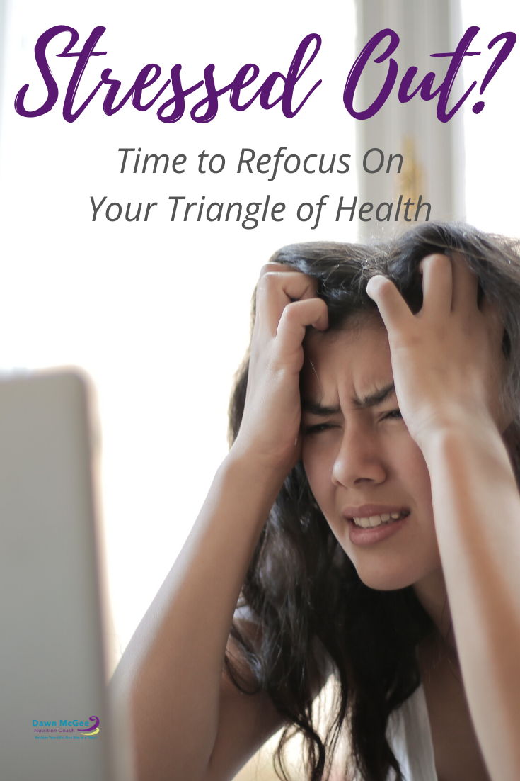 Stressed Out? Time to Refocus on Your Triangle of Health.